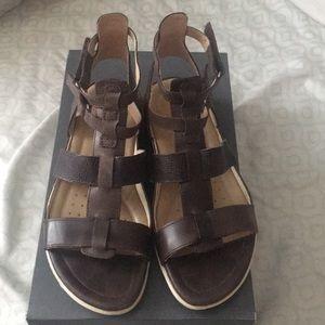 ECCO ankle strap sandal